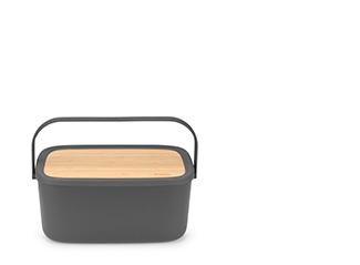 Lift-top bread bin
