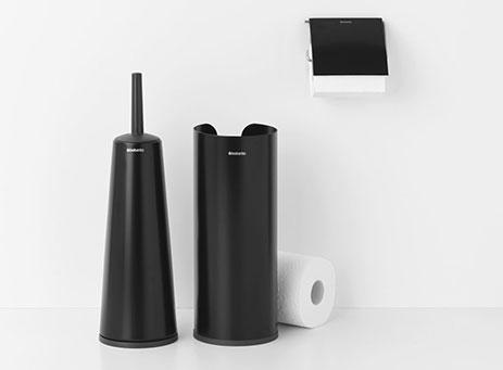 Toilet accessory set