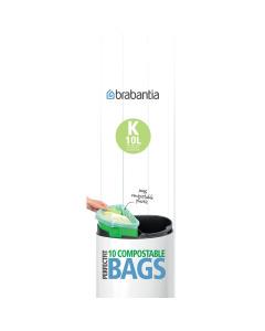 BinLiner Code K (10 litre) Compostable - 10 bags