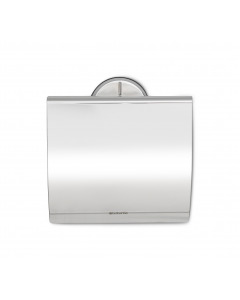 Toilet Roll Holder (Profile) - Brilliant Steel