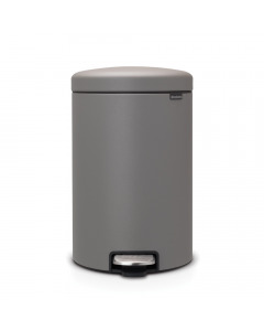 Pedal Bin newIcon 20 litre - Mineral Concrete Grey