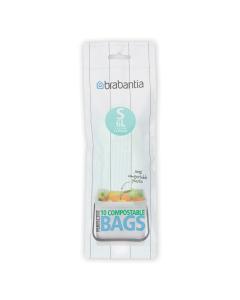 BinLiner Code S (6 litre) Compostable - 10 bags