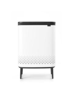 Bo Laundry Bin Hi 2 x 45 litre - White
