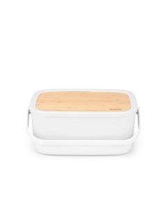 Nic Bread Bin - Light Grey