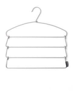 Soft Touch Trousers Hanger - Dark Grey