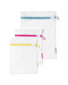 Wash Bags (Set of 3) - White