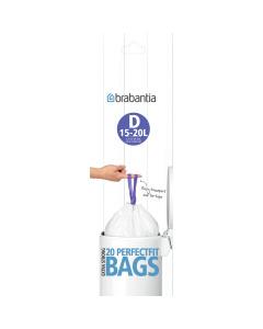 BinLiner Code D (15L) - 20 bags