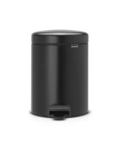 Pedal Bin NewIcon Recycle 2 x 2 litre - Matt Black