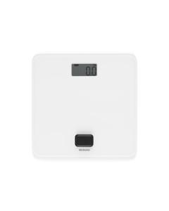 Battery Free Bathroom Scale - White
