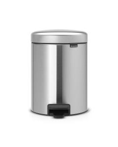 Pedal Bin NewIcon Recycle 2 x 2 litre - Matt Steel