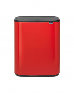 Bo Touch Bin 60 litre - Passion Red