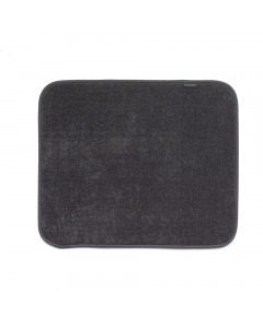 Microfiber Dish Drying Mat - Dark Grey