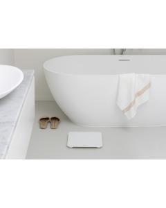 Digital Bathroom Scale - White