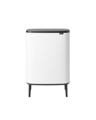 Bo Touch Bin Hi 2 x 30 litre - White