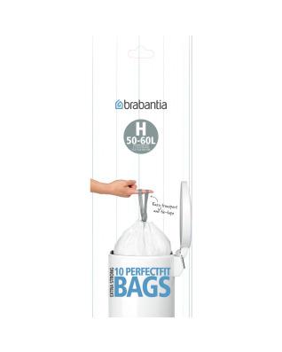 BinLiner Code H (50/60L) - 10 bags
