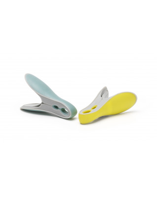 Smart Clothes Pegs Yellow/Mint