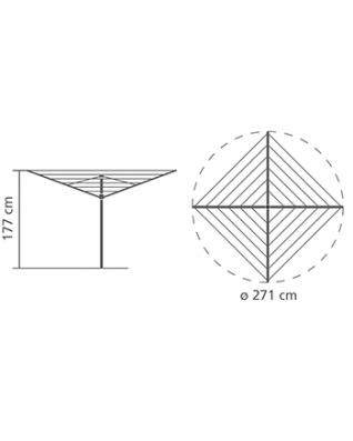 Rotary Dryer, Essential, 40m (Ground Tube)