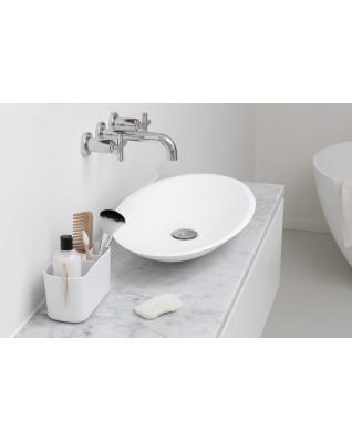 Bathroom Caddy - White