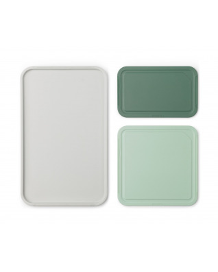 Tasty+ Chopping Board Set - Mixed Colours