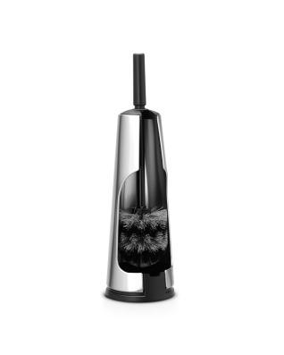 Toilet Brush & Holder - Matt Steel