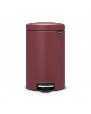 Pedal Bin newIcon 12 litre - Mineral Windsor Red