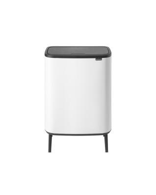 Bo Touch Bin Hi 60 litre - White