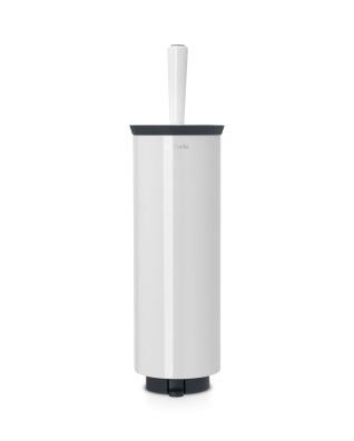 Toilet Brush and Holder (Profile) - White
