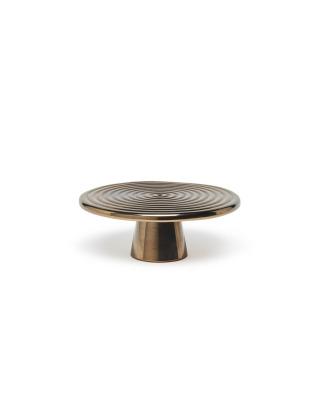 Food Stand Ceramic Small - Platinum