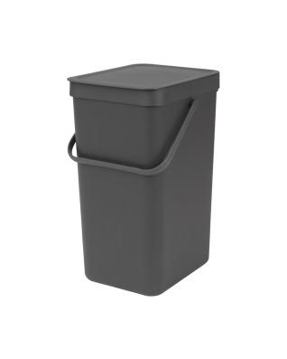 Sort & Go Waste Bin 16 litre - Grey