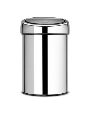 Touch Bin 3 Litre - Brilliant Steel