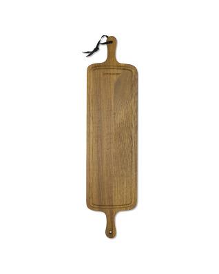 BBQ Board Slim Fit XL - Oiled Smoked Oak