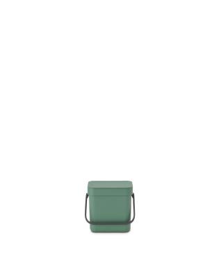 Sort & Go Waste Bin 6 litre - Fir Green