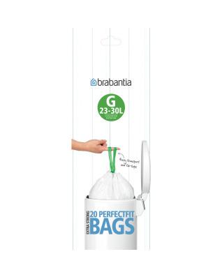 BinLiner Code G (23/30L) - 20 bags