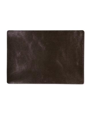 Placemat Leather - Metallic Bronze