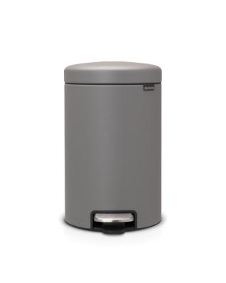 Pedal Bin newIcon 12 litre - Mineral Concrete Grey
