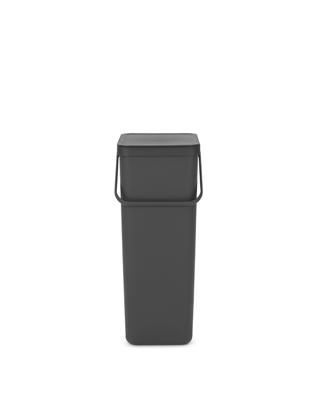 Sort & Go Waste Bin 40 litre - Grey