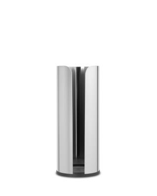 Toilet Roll Dispenser - Brilliant Steel