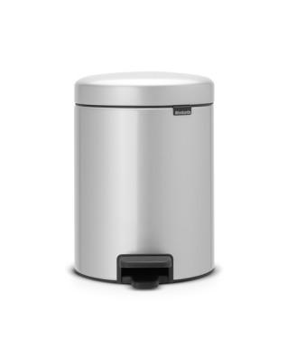 Pedal Bin NewIcon 5 Litre - Metallic Grey