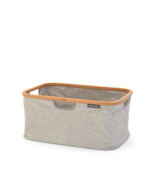 Foldable Laundry Basket 40 litre - Grey