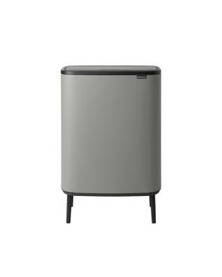 Bo Touch Bin Hi 2 x 30 litre - Mineral Concrete Grey