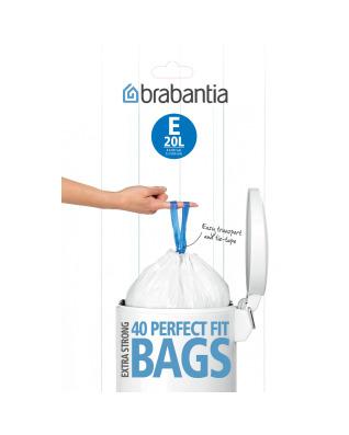 BinLiner Code E (20L) - 40 bags