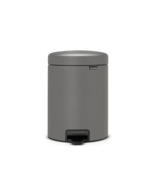 Pedal Bin newIcon 5 litre - Mineral Concrete Grey