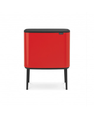 Bo Touch Bin 36 litre - Passion Red