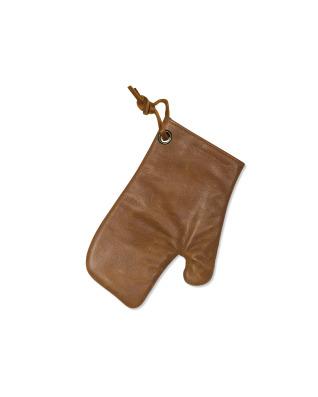 Oven Glove Vintage Leather VintageCognac