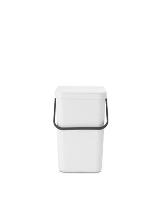 Sort & Go Waste Bin 25 litre - White