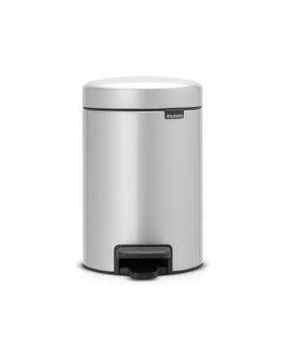 Pedal Bin NewIcon 3 Litre - Metallic Grey