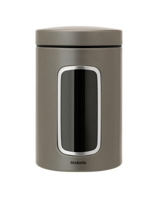 Window Canister 1.4 litre - Platinum