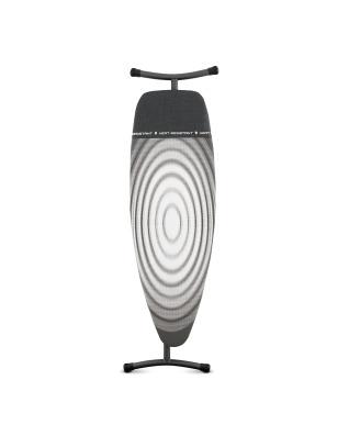 Ironing Board 135x45cm (D) Heat Resistant Iron Parking Zone - Titan Oval