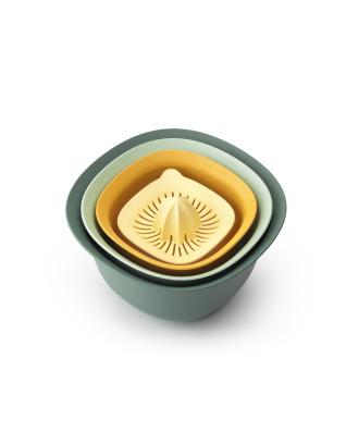 Tasty+ Mixing Bowl Set - Mixed Colours