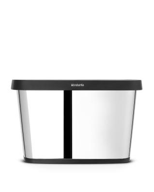 Paper Box 10 litre - Brilliant Steel